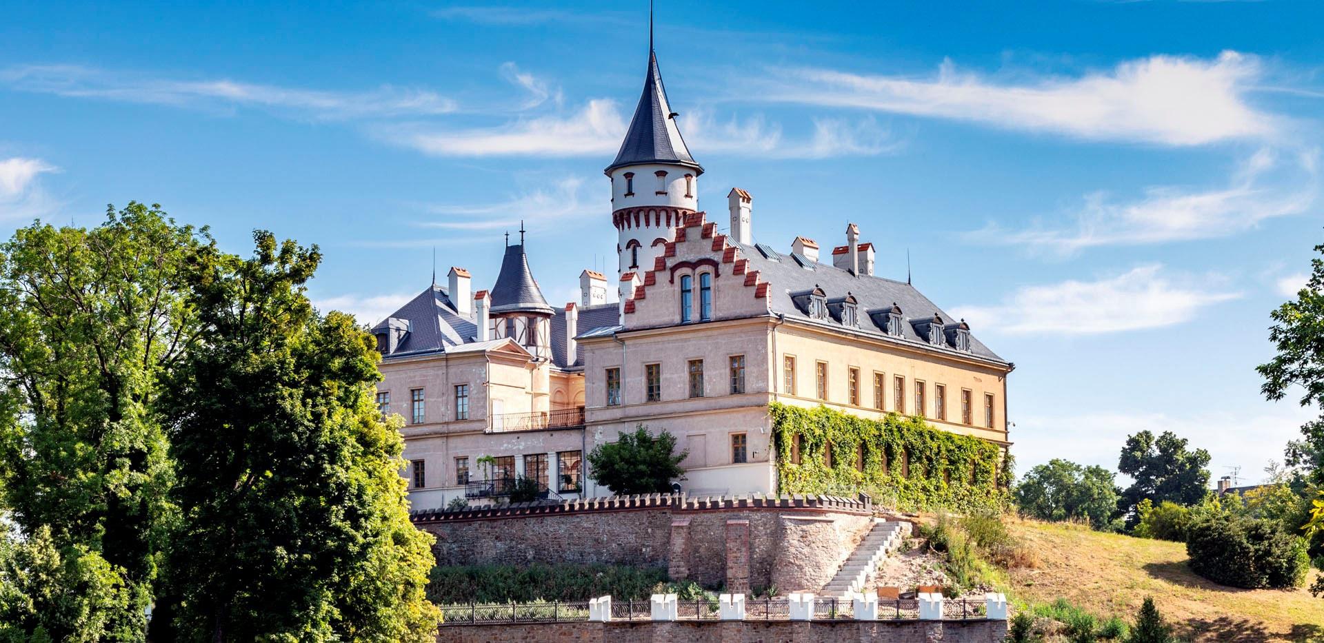 Raduň chateau - Zažijte světový Moravskoslezský kraj